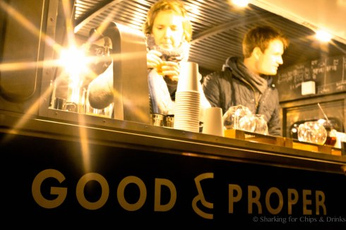 Good & Proper - A Street truck specialising in tea. You would expect nothing less from the British!