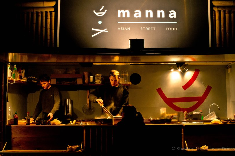 Manna  - Asian Street Food - which also dove into specialties from Cambodia
