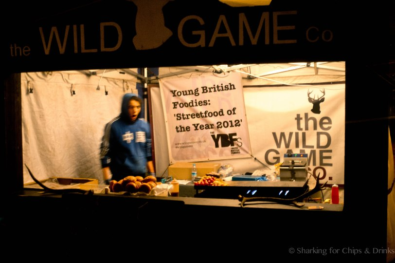 Wild Game - My pick of the night and winners of the Young British Foodies 'Street Food of the Year 2012'