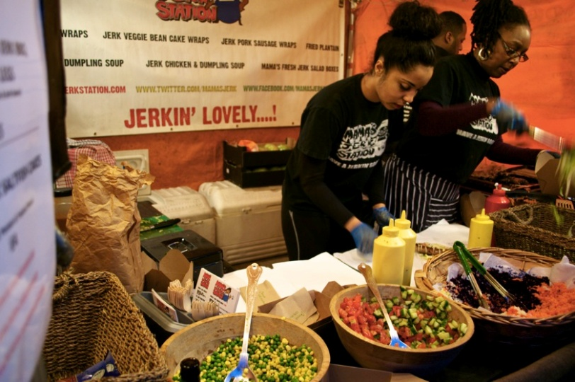 Street Feast London mamas jerk station