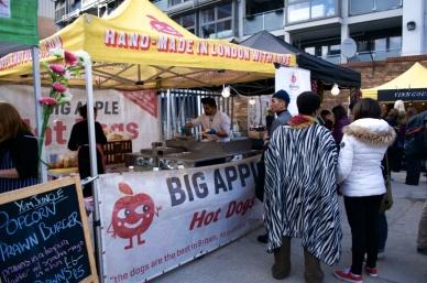 Street Feast London Big apple hot dogs