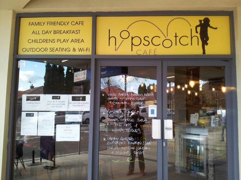 hopscotch cafe sydney