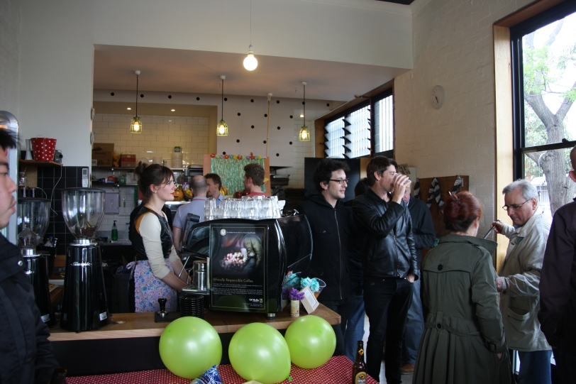 Foxtrot cafe, South Melbourne