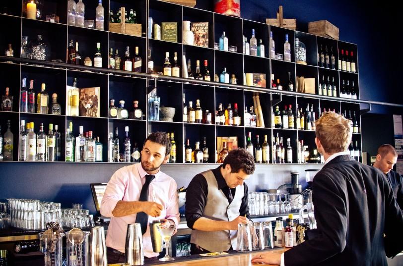 Plus 5 Bar South Wharf, Melbourne