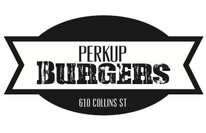 Perkup Burger Stamp 150mm