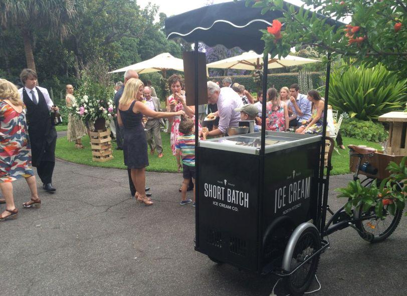 short batch ice cream cart melbourne