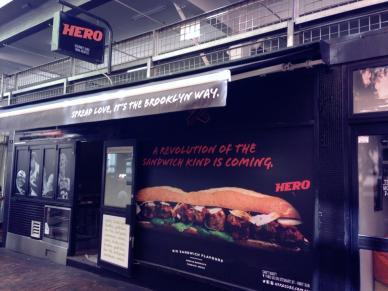 Hero Subs, Hardware Lane, melbourne