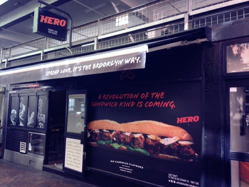 Hero Subs, Hardware Lane, melbourne